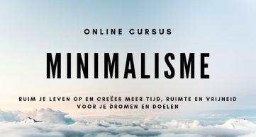 Minimalisme cursus