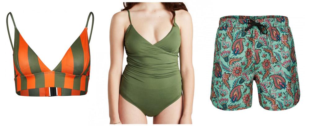Dedicated duurzame bikini, badpak en zwemshort
