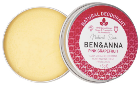 Ben & Anna deo crème in blikken doosje