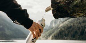 Duurzame, herbruikbare drinkflessen