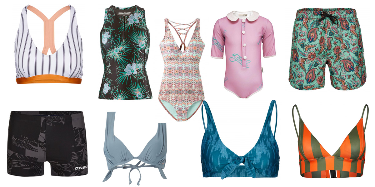 Duurzame zwemkleding - bikini, badpak, zwembroek, zwemshort