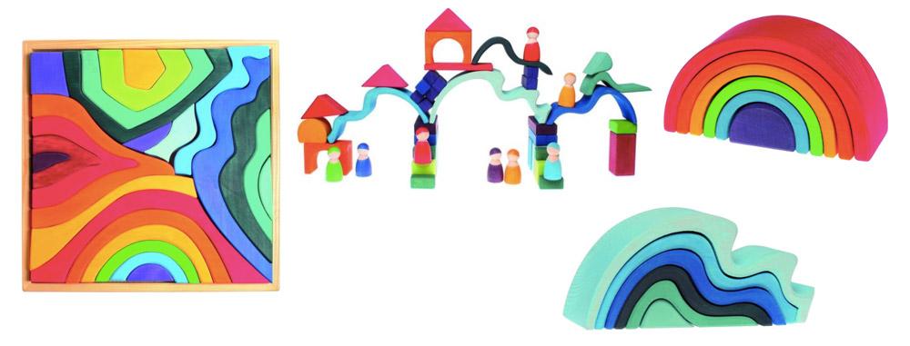 Grimms, houten en duurzaam speelgoed