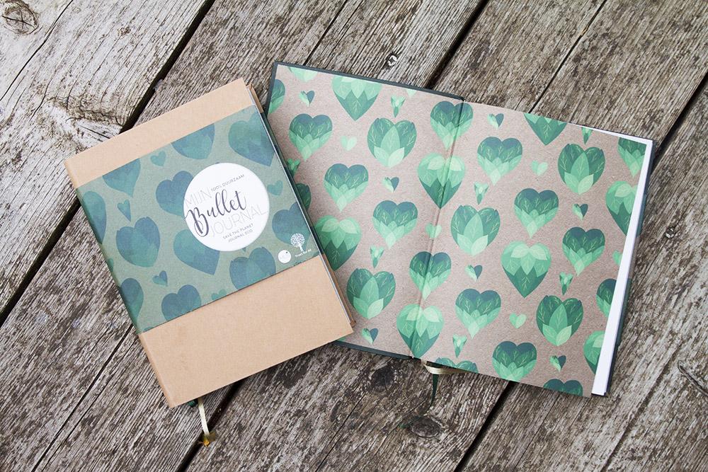Mijn bullet journal eco en green